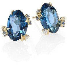 7ec7d4574 Alexis Bittar Fine Royal Marquis London Blue Topaz, Diamond, Sapphire... (