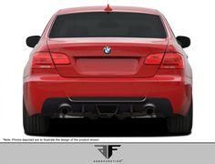 2007-2013 BMW 3 Series M-Tech E92 E93 2DR AF-3 Rear Diffuser ( GFK ) - 1 Piece