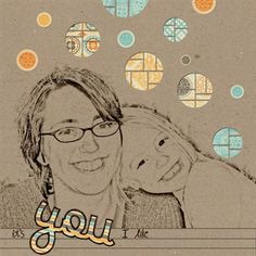 """It's You I Like"" by champsarahjoy, as seen in the Club CK Idea Galleries. #scrapbook #scrapbooking #creatingkeepsakes"