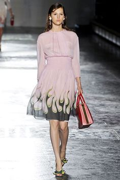 Prada S12.  Love the skirt.