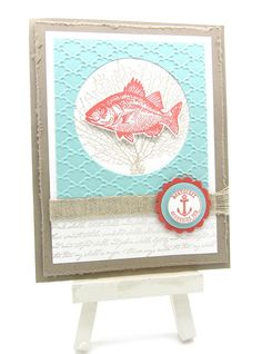 By the Tide, Love & Laughter Card Swaps using Stampin' Up! Stamps