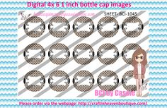 1' Bottle caps (4x6) digital editable BCI-1045   PLEASE VISIT http://craftinheavenboutique.com/AND USE COUPON CODE thankyou25 FOR 25% OFF YOUR FIRST ORDER OVER $10! #bottlecap #BCI #shrinkydinkimages #bowcenters #hairbows #bowmaking #ironon #printables #printyourself #digitaltransfer #doityourself #transfer #ribbongraphics #ribbon #shirtprint #tshirt #digitalart #diy #digital #graphicdesign please purchase via link http://craftinheavenboutique.com
