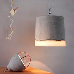 Ø 34 Concrete Pendant Lamp