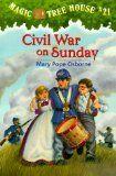 Magic Tree House #21 Civil War on Sunday Reading Comp. Worksheet