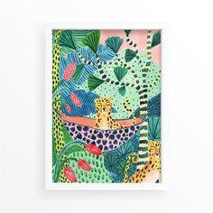 Sloth / Jungle / Sloth Print/Botanical Illustration/Panther/Sloth Gift/Tropical/Safari/Botanical Print/Home Decor/Sloth Art/Nursery Wall Art Safari Nursery, Nursery Wall Art, Jungle Art, Jungle Safari, Impressions Botaniques, Family Poster, Family Canvas, Thing 1, Tropical Art