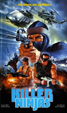 Killer Ninjas AKA Ninja in the Killing Fields (1984) #exploitation #80s
