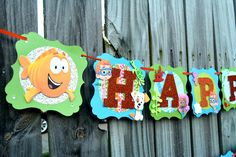 Bubble Guppies Banner-Bubble Guppies Decoration-Bubble Guppies Birthday Banner-Bubble Guppies Party-Bubble Guppies Decoration-Bubble Guppies by NishsCreations on Etsy Bubble Guppies Decorations, Bubble Guppies Birthday, Bubble Guppies Characters, Creative Banners, Glitter Cardstock, Name Banners, Party Planning, First Birthdays, Bubbles