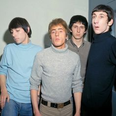The Who; Keith Moon, Roger Daltrey, John Entwistle, Pete Townshend