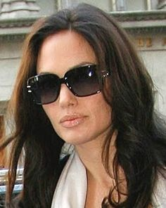 b2145f83f99f Angelina wearing Dior Dior Sunglasses, Ray Ban Sunglasses Outlet, Sunglasses  Women, Celebrity Sunglasses