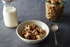 "food52: ""Embrace your crunchy, granola side. Maple Quinoa Granola via Food52 """