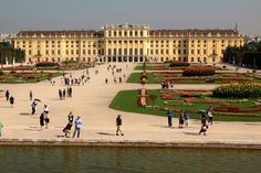 https://flic.kr/p/LJSru6 | Vienna | Schönbrunn Palace, the former imperial summer residence of the Hapsburgs, features 1,414 rooms. In 1569, Holy Roman Emperor Maximilian II purchased a large floodplain of the Wien River beneath a hill where a former owner, in 1548, had erected a mansion called Katterburg. During the next century, the area was used as a hunting and recreation ground. After the death of her husband, Ferdinand II, Eleonora Gonzaga added a palace to the Katterburg mansion…