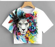 T Shirt Painting, Fabric Painting, Curls For Long Hair, Baby Girl Tops, Kids Class, Painted Clothes, Diy Clothes, Art Girl, Ideias Fashion