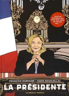Récit de politique fiction retraçant, après l'élection de Marine Le Pen le 7 mai 2017, les neuf premiers mois de sa présidence : la constitution de son gouvernement, ses premières mesures appliquant la préférence nationale, les implications économiques de sa politique de rupture avec l'Union européenne, ses accords secrets avec les Etats-Unis et l'Allemagne, etc.
