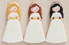 Postreadicción galletas decoradas, cupcakes y pops: Galletas de comunión