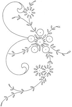 flower design 21 by love to sew. This would look BEAUTIFUL embroidered into fancy elven clothing! Er...or even just nobility type characters. Love it! <3