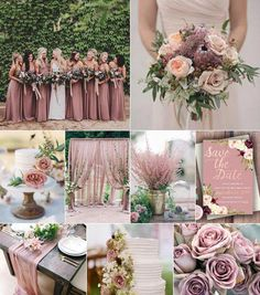 Dusty-rose color theme on wedding / Dusty rose color theme wedding inspo. - Dusty-rose color theme on wedding / Dusty rose color theme wedding inspo. Rose Gold Theme, Gold Wedding Theme, Wedding Themes, Fall Wedding, Wedding Colors, Wedding Flowers, Dream Wedding, Wedding Week, Wedding Ideas