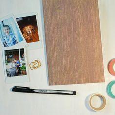 Blank Notebook / Travelers Notebook / Travel Journal / Blank Book / A5 / Midori Insert / Bullet Journal / Daily Journal / Handmade Journal by HotWheelsAndGlueGuns