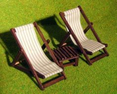 how to: deck-chairs