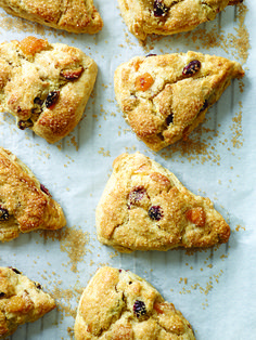 cranberry and almond whipped cream scones apricot cranberry and almond ...