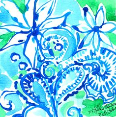 Summer is in full bloom. #Lilly5x5 #SummerInLilly