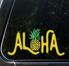 Window Car ATV Spiritual Fun Sticker Outdoor Vinyl Decal Destination Paradise