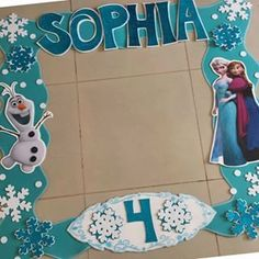 Frozen Themed Birthday Party, Disney Frozen Birthday, Elsa Birthday, 2nd Birthday Party Themes, Fun Party Themes, Frozen Tea Party, Frozen Crafts, Frozen Party Decorations, Party Frame