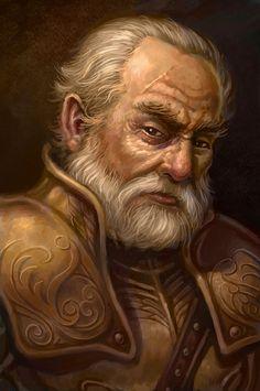 d&d dwarf portrait - Google Search