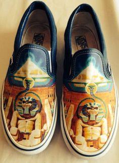 Vans Skate Shoes: Iron Maiden Powerslave