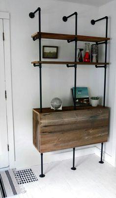 Make the wood a drop leg desk.
