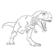 Top 35 Free Printable Unique Dinosaur Coloring Pages Online