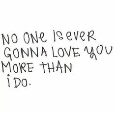 DM remember this... Because no one can, I love you too damn much for that to be possible!
