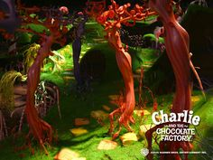 Charlie and the Chocolate Factory Trees