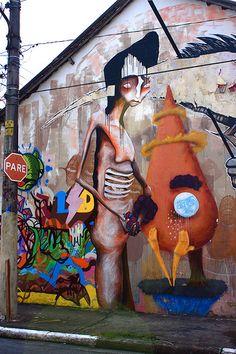 Street art | Mural (São Paulo, Brazil) by Magrela