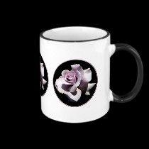 Purple - Violet Rose mugs by Roses_Roses