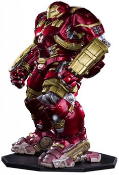 Estátua Hulkbuster Age of Ultron - Art Scale 1/10 - 31 cm - Iron Studios   Comic…