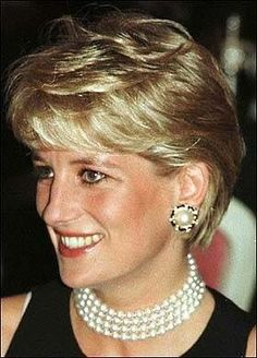Diana loves her pearls