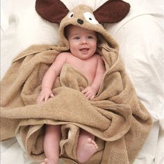 Infant Hooded Towel - Dog