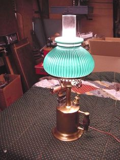 Vintage Blow Torch Lamp Custom Made Clayton and Lambert Converted to Electric | eBay