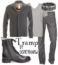 I'm interested in the boots, and the ring. But really I just like that the Tramp inspired a look. (Not shaggy enough though.)