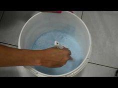 DIY: Sabão líquido para lavar roupas poderoso rende 15 litros - YouTube