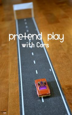Cool Road Play Tape Reinvigorates Our Pretend Play