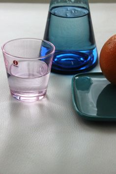 MATERIAN TAJU   Iittala Kartio Pale Pink Modern Glass, Pale Pink, Shot Glass, Enamel, Pottery, Ceramics, Tableware, Design, Ceramica