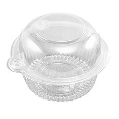 Containers For Cupcakes. Easyfashion 50 x Plastic Single Individual Cupcake Muffin Dome Holders Cases Boxes Cups Pods. Cupcake Muffin, Cupcake Pans, Cupcake Holders, Cupcake Liners, Cupcake Wrappers, Plastic Cups, Plastic Containers, Cookie Containers, Cupcake Boxes Wholesale