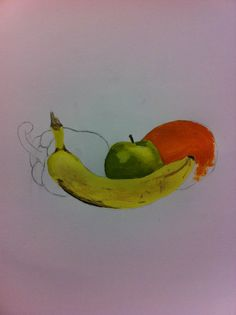fruit painting - 22nd October