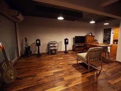 アメリカンブラックウォールナット無垢フローリング #Walnut #Flooring