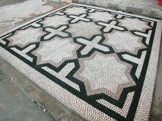 Artistic Pebble mozaik. By Mehmet ışıklı Antalya Türkiye. 2000