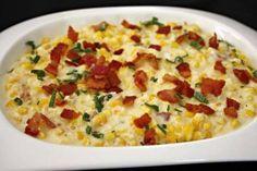 Bacon Cream Corn - Carolinas Cooking