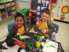 La maternelle de Francesca: Nos dinosaures en argile - partie 2