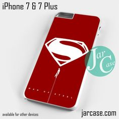 Man of Steel YDP Phone case for iPhone 7 and 7 Plus