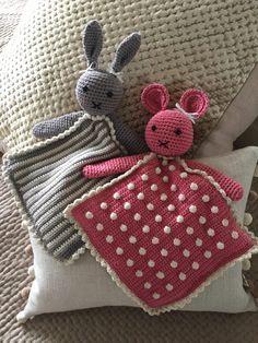 FREE amigurumi pattern: Kate Eastwood's Taggy Animals #amigurumi #bunny #rabbit